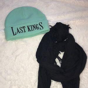 ☀️NWOT Last Kings Beanie